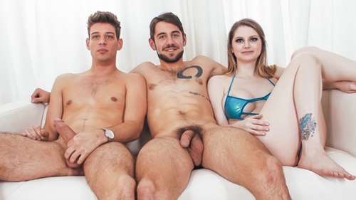 "Dante Colle, Michael DelRay ""Bunny Colby's Bisexual Threesome"""
