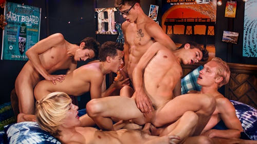 LIFEGUARDS | PARTY WAVE – Max Carter, Kyle Ross, Evan Parker, Tyler Hill, Blake Mitchell, Joey Mills